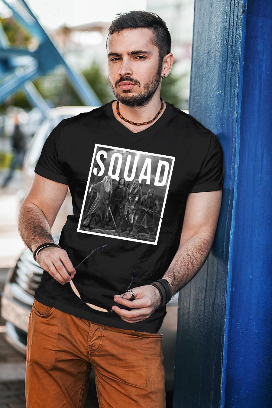 The Lord of the Rings squad shirt unisex