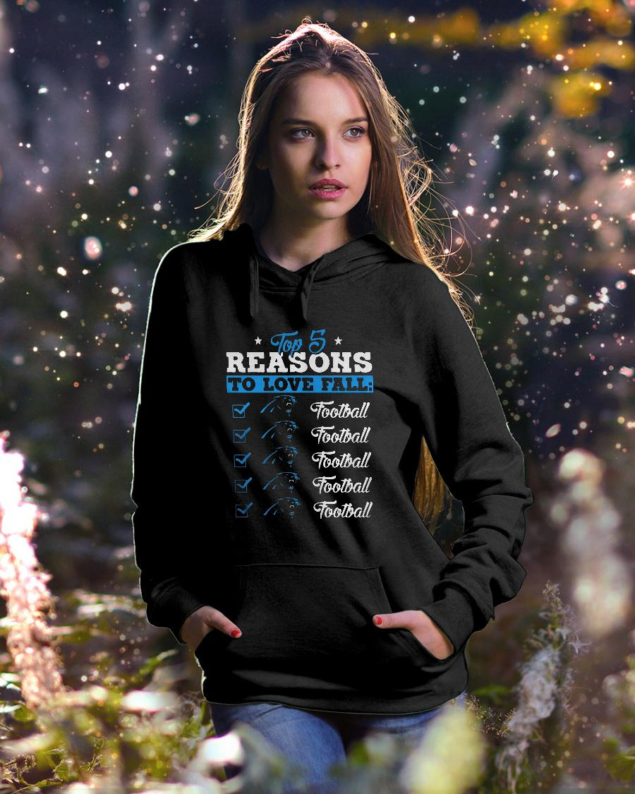 Top 5 reasons to love falls Panthers football team shirt hoodie unisex