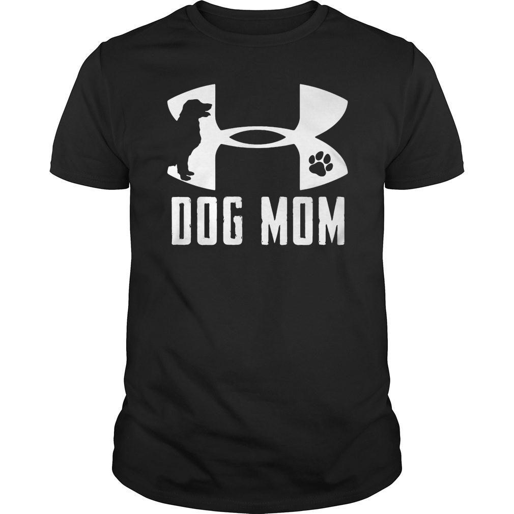 Under Armour dog mom shirt
