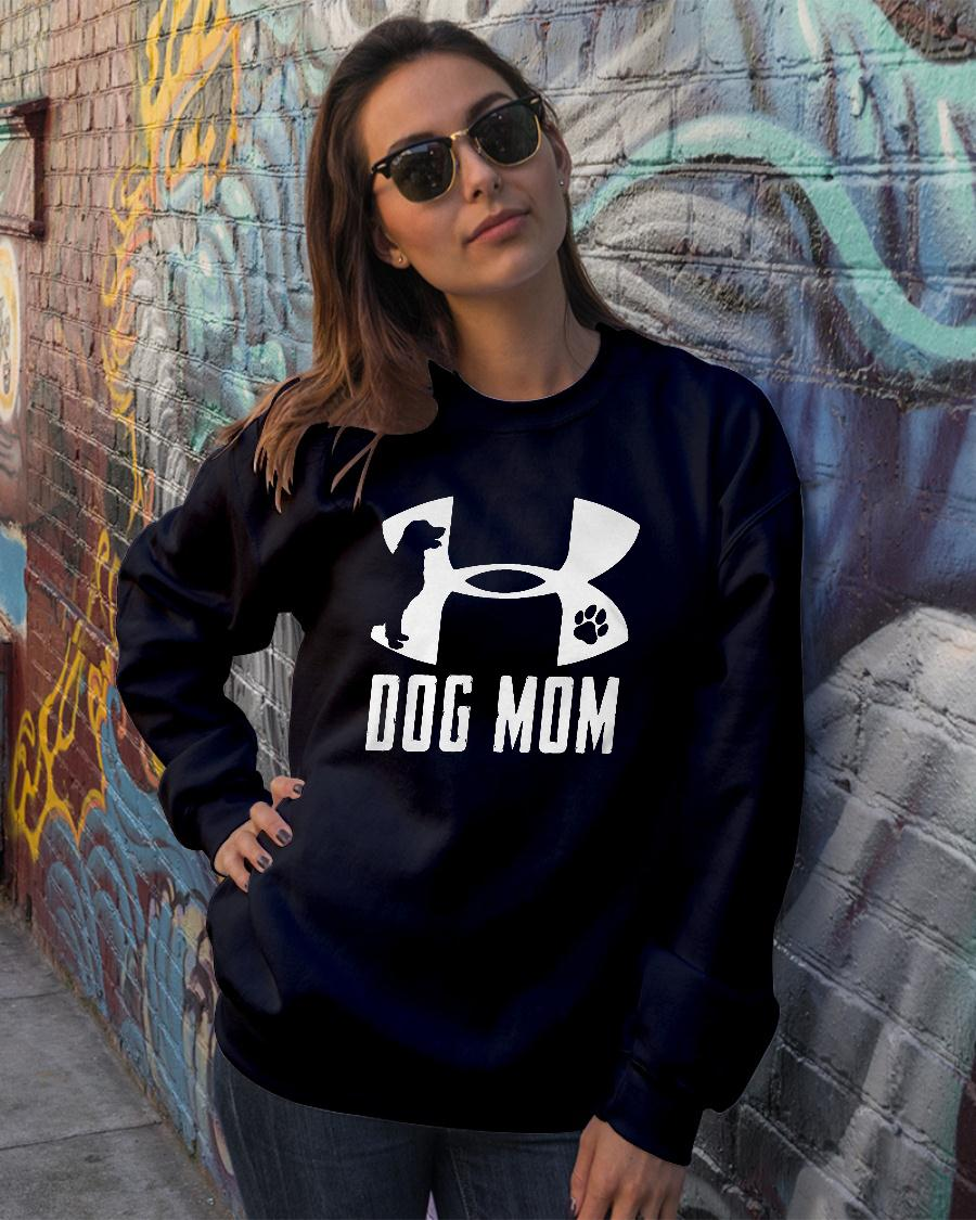Under Armour dog mom shirt sweater official