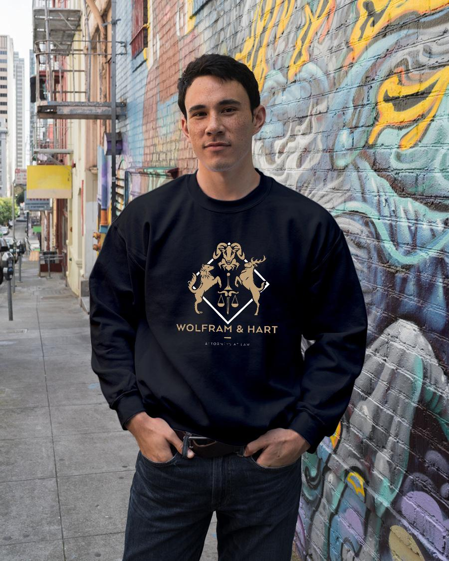 Wolfram and Hart Attorneys at law shirt sweater unisex
