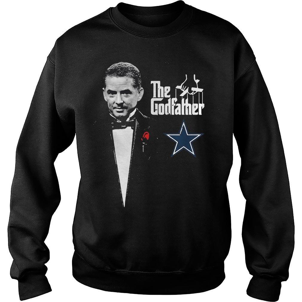 jason garrett the godfather dallas cowboys shirt sweater